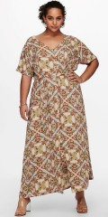ONLY Carmakoma - Maxi dress in africa style