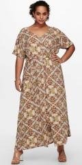 ONLY Carmakoma - Maksi kjole i africa style