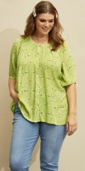 Kyra limegreen blouse