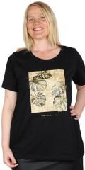Zhenzi - Aili t-shirt med tryk i økologisk bomuld