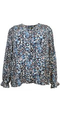 Cassiopeia - Belina printed shirt blouse