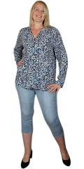 Cassiopeia - Belina printed skjorta