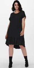 ONLY Carmakoma - Svart melerad sommar klänning