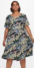 ONLY Carmakoma - Blomstrad sommar klänning