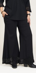 Studio Clothing - Vera width pants with lace edge
