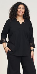 Studio Clothing - Vera blouse with lace details