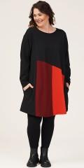Gozzip - Brita tunic in blockcolours