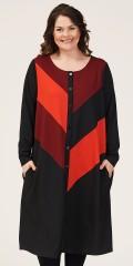 Gozzip - Brita long cardigan/dress