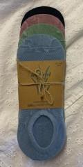 Festival - Bambus sneaker sock/soklet 4-pak
