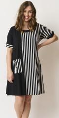 Pont Neuf  - Mabel randat klänning