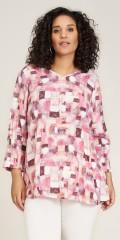 Studio Clothing - Connie tunic i pink tern