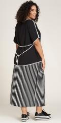 Studio Clothing - Annelise stribet nederdel