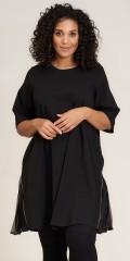 Studio Clothing - Oda zip dress with pleat