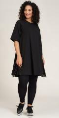 Studio Clothing - Oda zip klänning med plisse