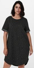 ONLY Carmakoma - Kaylee kjole med animalprint