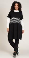 Studio Clothing - Britta klänning med randar