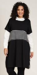 Studio Clothing - Britta dress with stripes