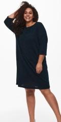 ONLY Carmakoma - Knelang strikk kjole