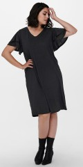 ONLY Carmakoma - Gila dress with layer on layer sleeves