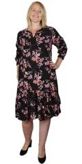 Zhenzi - Blomstret kjole