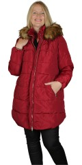 CISO - Quilted jacket with fake fur