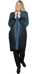 Adia Fashion - Klodi cardigan in patent knit
