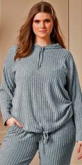 Zhenzi - Homewear Bluse