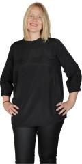 Gozzip - Celina bluse med flæser