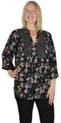 Gozzip - Kate blouse i kombi print