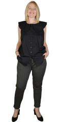 Adia Fashion - 7/8 pants with stripe