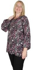 Zhenzi - Novah blouse i animal print