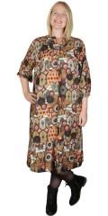 Cassiopeia - Lima Kleid 1 in Retro-Print