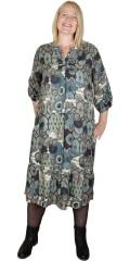 Cassiopeia - Lima dress 1 i retro print