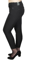 CISO - 7/8 bengalin pants with super stretch and zipper