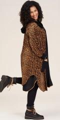 Studio Clothing - Lilli jacka i animal tryck