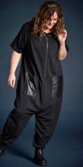 Gozzip - Gry jumpsuit : gozzip black