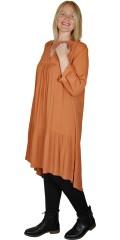 Zhenzi - Naoma dress i crepe viskose