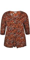 Zhenzi - Karon bluse i blomerprint