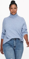 ONLY Carmakoma - Abbi rollneck pullover life