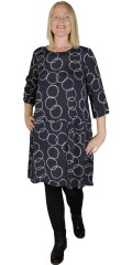 Choise - Hena dress with graphic print