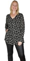 Adia Fashion - Herma shirt in crepe viscose