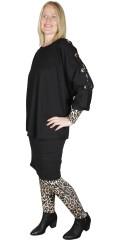 Gozzip - Alberta oversize blouse, gozzip black