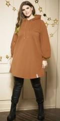 Zhenzi - Penni long hoodie/tunic