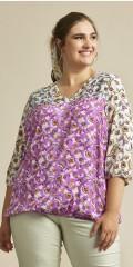Zhenzi - Mixie blouse