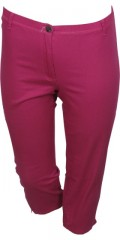 Zhenzi - Twist jeans legging fit stumpe bukser med stretch