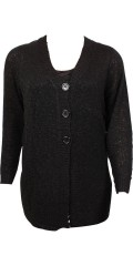 Zhenzi - Cardigan with long sleeves