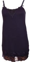 Zhenzi - Must have-top/underkjole med regulerbare stropper og bred blonde forneden