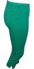 DNY (Marc Lauge) - Jeans-leggings med elastik i taljen og med strech.