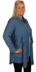 Gozzip - Storskjorte med lange ærmer