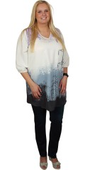 Zhenzi - Tunic with print